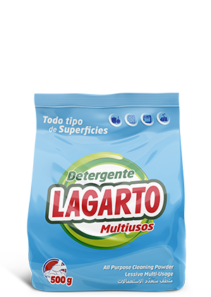 Detergente Lagarto Multiusos 500gr