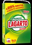 Detergente Lagarto Familiar 85 Dosis