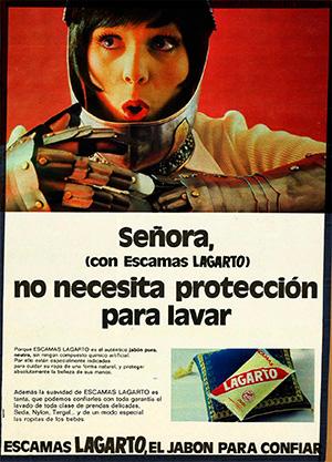 1972---LAGARTO---Escamas---Anuncio-LECTURAS---No-necesita-proteccion-para-lavar