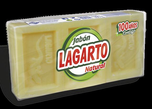 Jabón Lagarto Natural 3X100gr