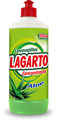 Lavavajillas Lagarto Concentrado Aloe 750ml