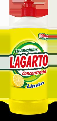 Lavavajillas Lagarto Concentrado Limón 750ml