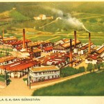 1914 - LAGARTO - Fabrica de San Sebastián