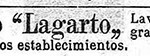 1928 - LAGARTO - Anuncio Prensa La Tradicio Catalana - LA TRADICIO CATALANA 18-02-1928 Extracto