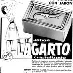 1950 Aprox. - LAGARTO - Jabón Cristalizado