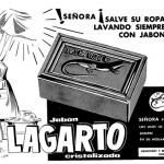 1950 - LAGARTO - Jabón Cristalizado