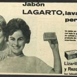 1960 - LAGARTO - Jabón - Anuncio Prensa AMA