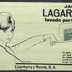 1961 - LAGARTO - Anuncio Prensa Ondas - Jabón