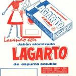 1964 - LAGARTO - Detergente Máquina Espuma Soluble