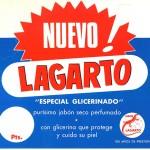 1964 - LAGARTO - Nuevo Jabón con Glicerina