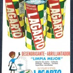 1966 - LAGARTO - Desengrasante Abrillantador - Anuncio Prensa SELECCIONES