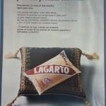 1971 - LAGARTO - Escamas - Anuncio Prensa Ama
