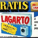 1975 - LAGARTO - Detergente + Jabón - Anuncio Revista Hola