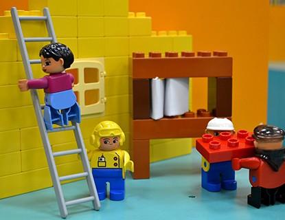 Cómo limpiar Legos