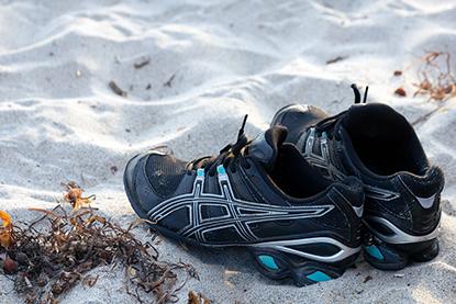 Zapatillas de running: cómo limpiarlas