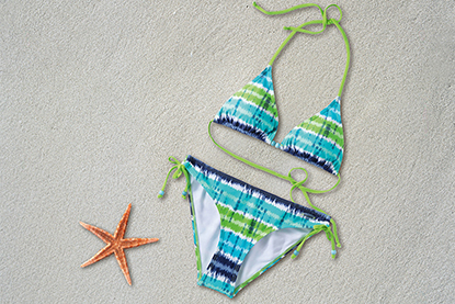 Cómo lavar tu bikini