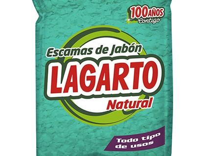 Cómo utilizar las escamas de jabón Lagarto