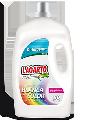Detergente Platinum Ropa Blanca y Color 50 Lavados