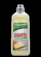 Fregasuelos Lagarto Platinum al Jabón 1L